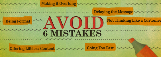 Avoid 6 Mistakes