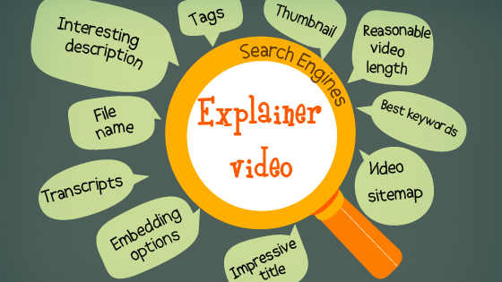 10 Tips to optimize your Explainer video for search engines