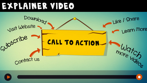 call to action explainer video